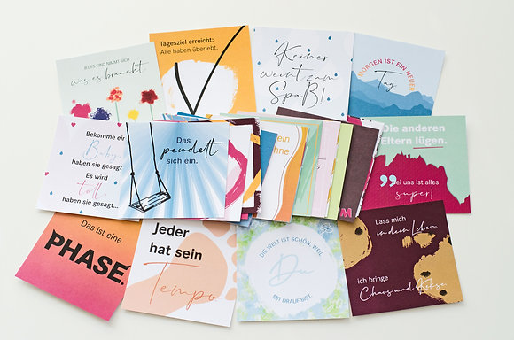 """Appl & Bär Kartenset """"Wahre Worte für Mamas"""""""