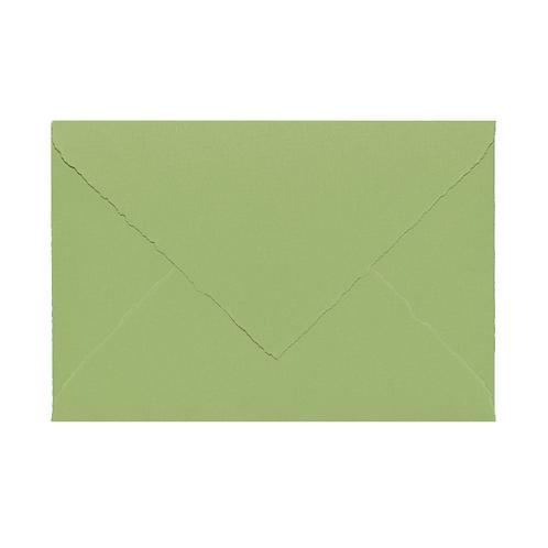 20x BUSTA HANDCRAFTED 12x18 verde mandorla