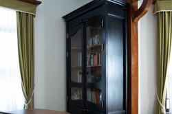 Dark navy cabinet