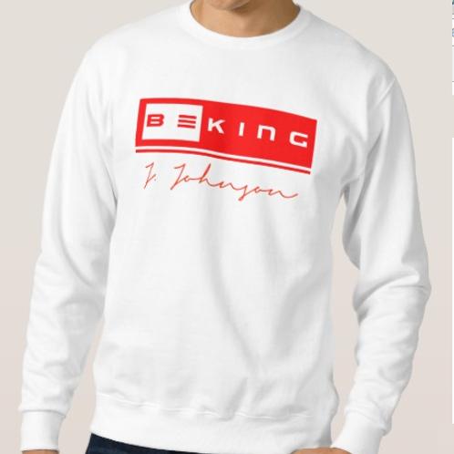 Be King Sweat Shirt White/Red