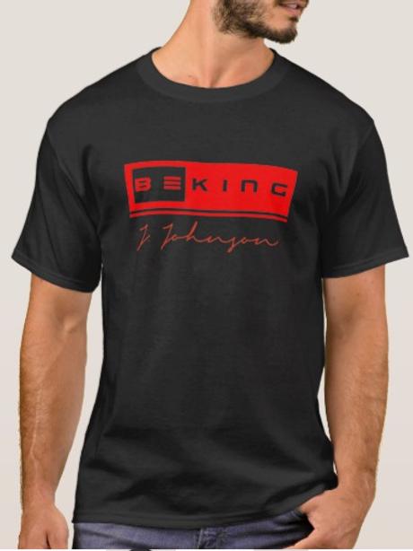 Be King Tee Black/Red