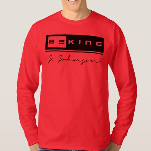 Be King LS Tee Red/Black