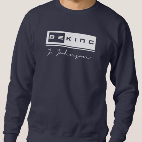Be King Sweat Shirt Navy/White