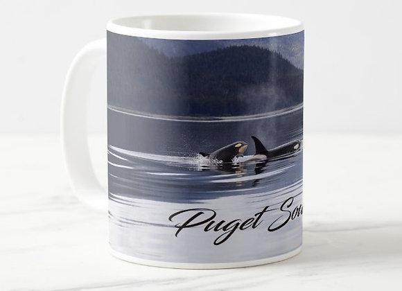 Puget Orcas Coffee Mug