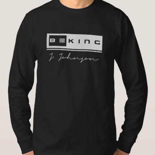 Be King LS Tee Black/White