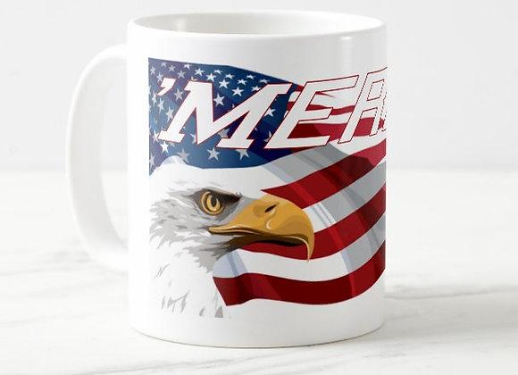 'Merica Eagle Coffee Mug