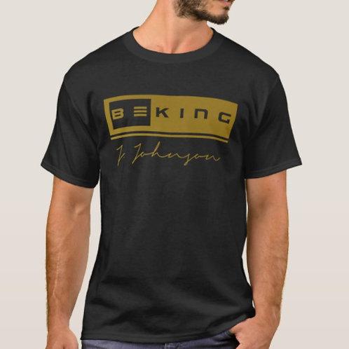 Be King Tee Black/Gold