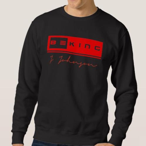 Be King Sweat Shirt Black/Red