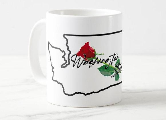 Washington St. Rose Coffee Mug