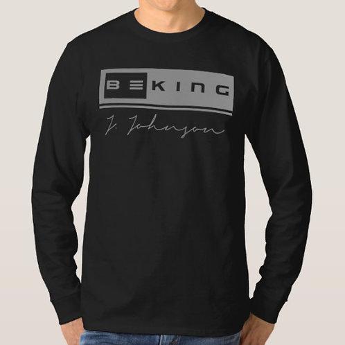 Be King LS Tee Black/Gray