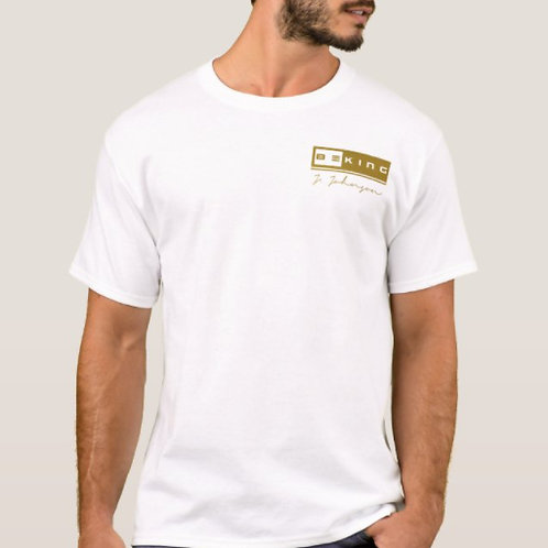 Be King Tee P. White/Gold