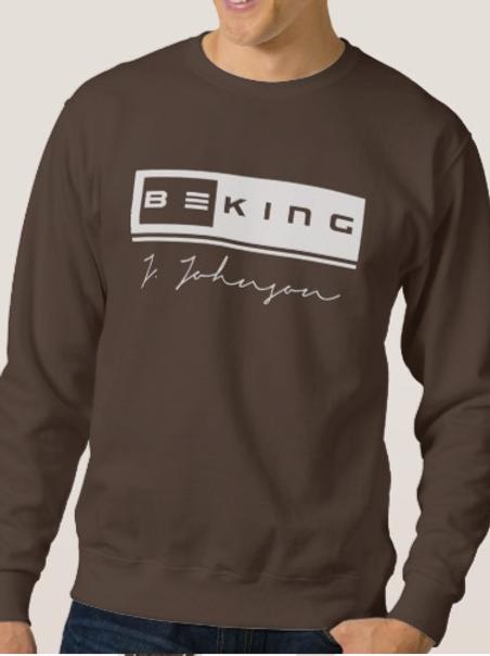 Be King Sweat Shirt Brown/White