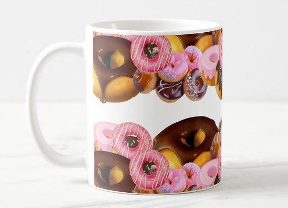 Donuts & Coffee Mug