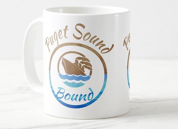 Puget Sound Bound Sea & Sand Coffee Mug