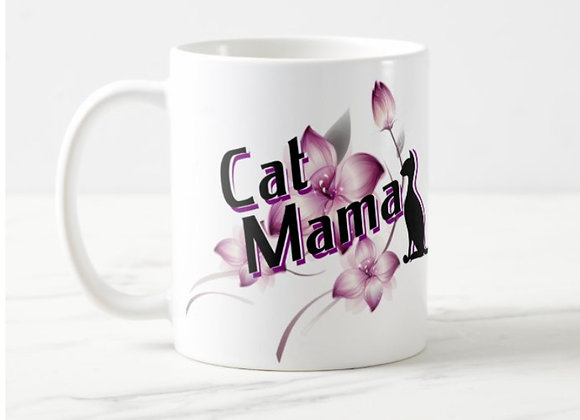 """Cat Mama"" 11oz Mug"