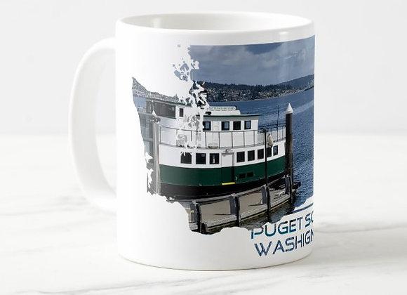 Puget Ferry Coffee Mug