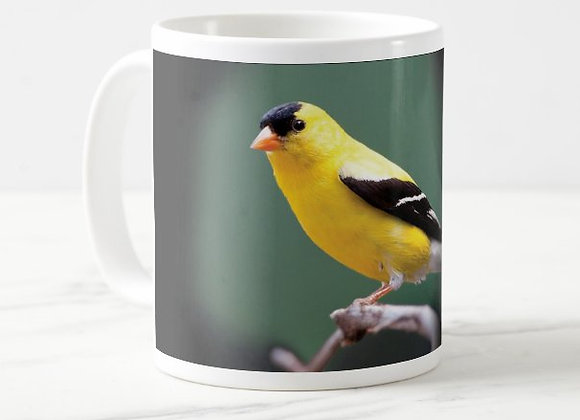 Wa St. American Goldfinch Coffee Mug