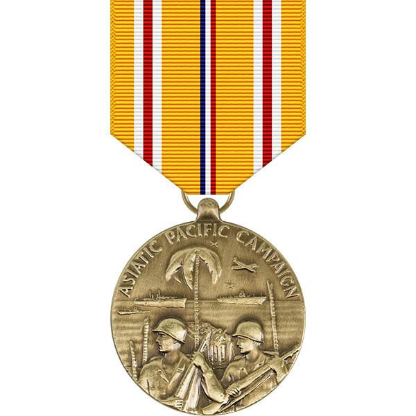 Image result for asiatic-pacific campaign medal