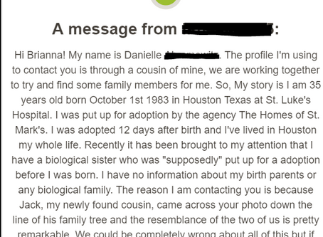 AncestryDNA and Social Networking