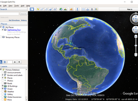 Following your Family Footsteps with Google Earth