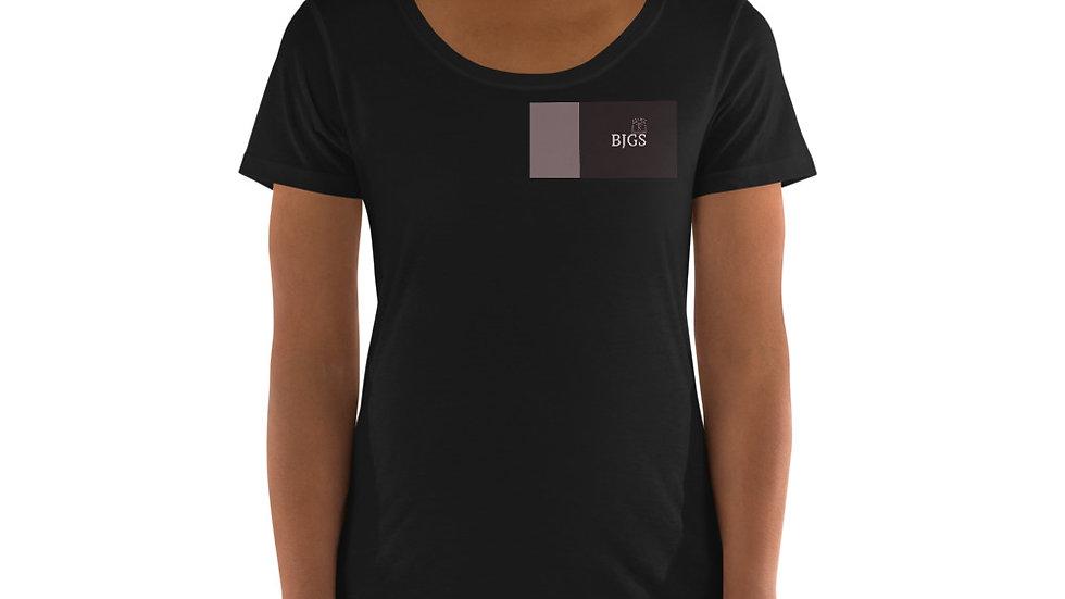BJGS Ladies' Scoopneck T-Shirt