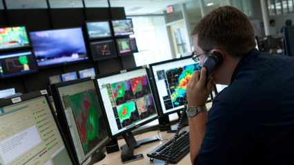 Creating windows of opportunity: Installing (social) order at the National Weather Service