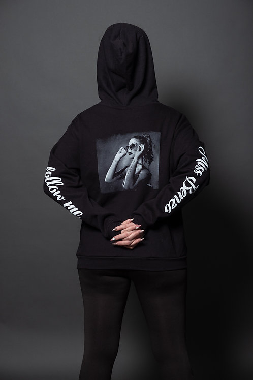Miss Benzo Zip Up Hoodie (Follow Me/Shades)