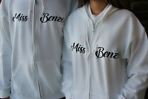 Miss Benzo Zip Up Hoodie (Tongue)