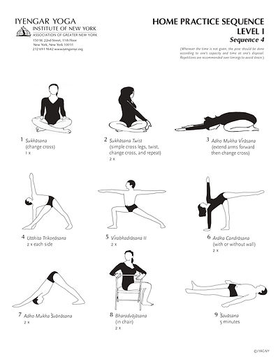 Yoga sequence for Home practice