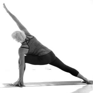 Utthita Parsvakonasana Iyengar Yoga