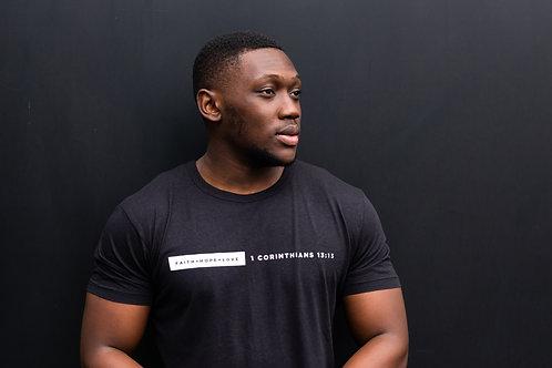1 Corinthians 13:13 (Signature) - Men's T-Shirt