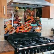 Cooker Splashback