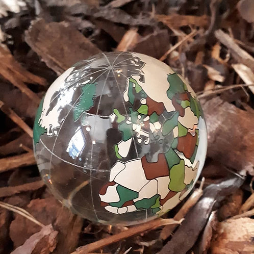 Marbles - World Map Marble