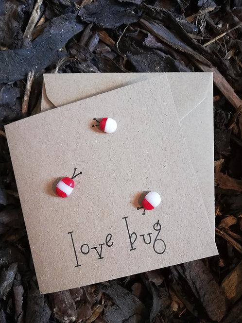 'Love Bug' greetings card