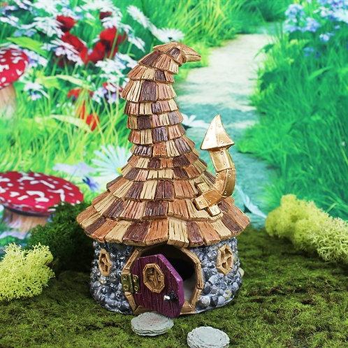 Enchanted Wizard Cottage - Fairy Garden
