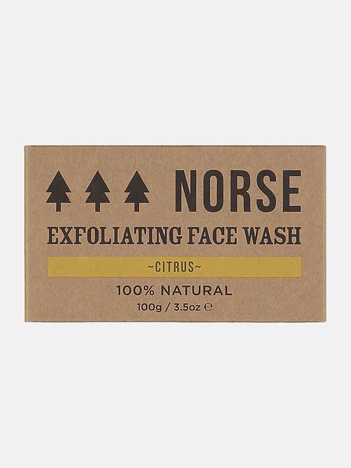 Norse Exfoliating Face Wash - Citrus
