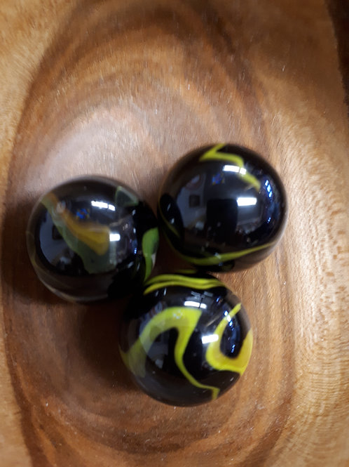 Marbles -  Poisoned Frog - Medium