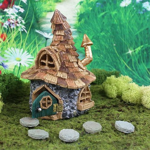 Enchanted Troll Cottage - Fairy Garden