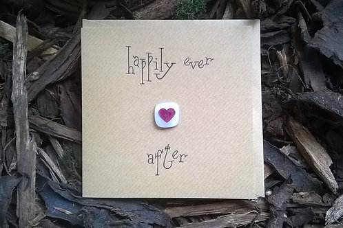 'Happily ever after' greetings card