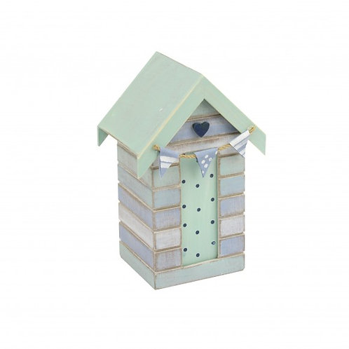 Cute Beach Hut Money Box