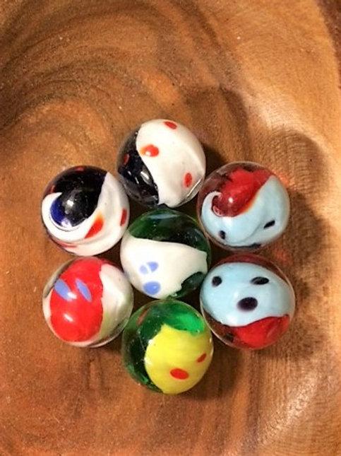 Marbles - Yin & Yang - Handmade Small