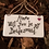 Thumbnail: Fused Glass Hanger - Will you be my bridesmaid?