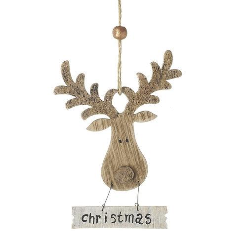 Reindeer Hanging Decoration