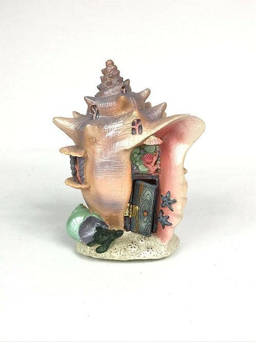 Conch Condo - The Fiddlehead Fairy Garden