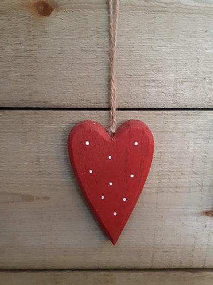 Cute Wooden Heart