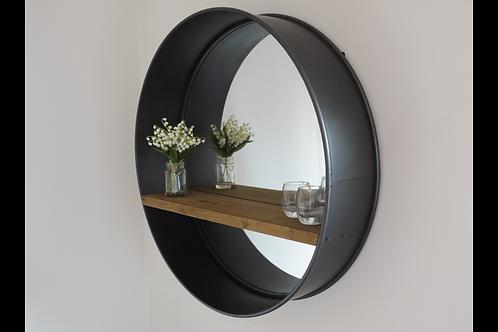Retro Industrial Mirror