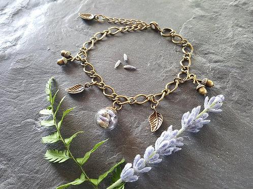 Lavender Terrarium Bracelet