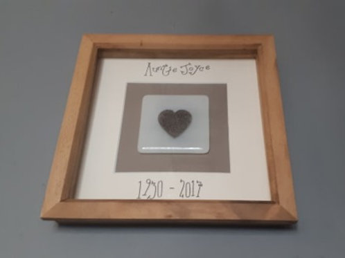 4Eva Embers Tile in Box Frame - Using Ashes You Provide