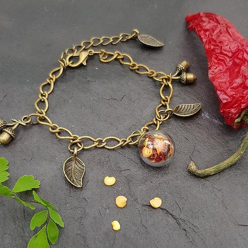 Chilli Seed Terrarium Bracelet