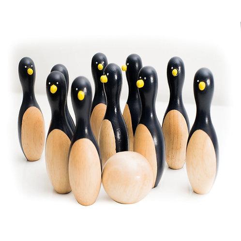 Ten Penguin Bowling